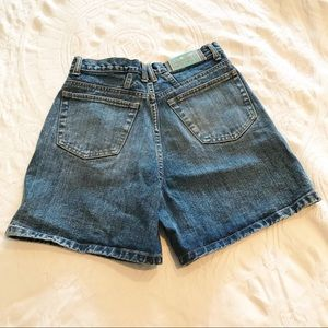 Vintage | 90's High Waisted Mom Jean Shorts 28